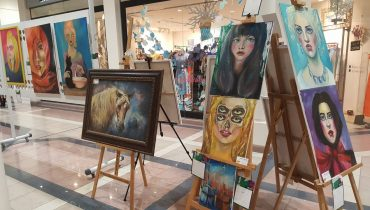 Art Festival in Al Aali Mall Bahrain 2016