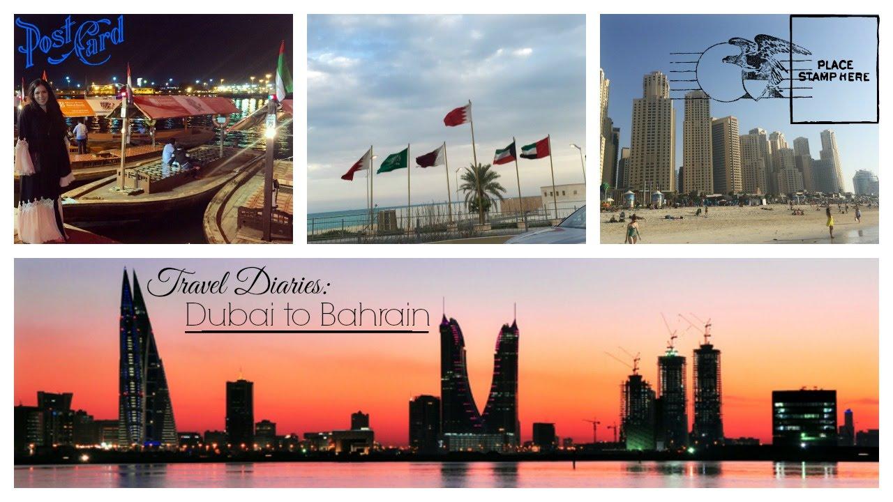 TRAVEL VLOG || Abaya Shopping, Jumeirah Beach, Bahrain