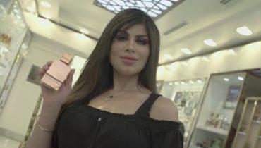 Fashion Blogger Aida Hassan experiences Haramain Amber Oud Perfume in Kuwait