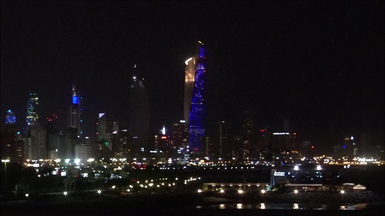 Night Scenery in Kuwait's Green Island – 2018/09/29 ( Zero )