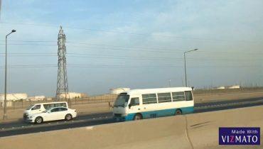 Travel outside of the city Kuwait /ออกนอกเมืองคูเวต ฝั่งทางซาอุ #ต่างถิ่นต่างแดน #คนไทยในคูเวต