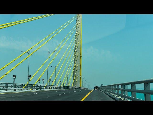 38 കി. മി നീളമുള്ള കടൽ പാലം  | Shaikh Jaber Causeway Kuwait | Bridge | |Travel Mint By Shameer Vlogs