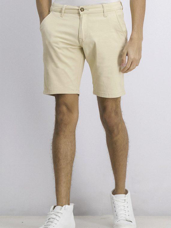 Mens Original Denim Slant Pocket Shorts Light Khaki