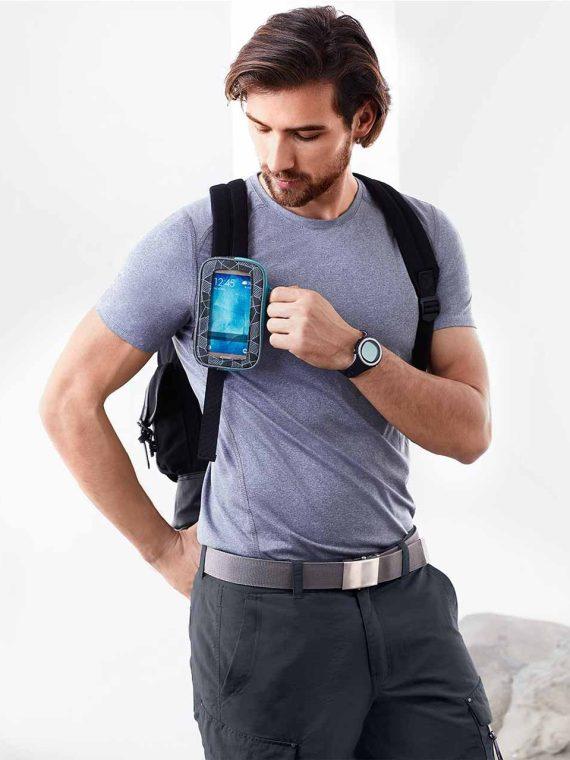 Multifunctional Bag With Window Grey/Blue