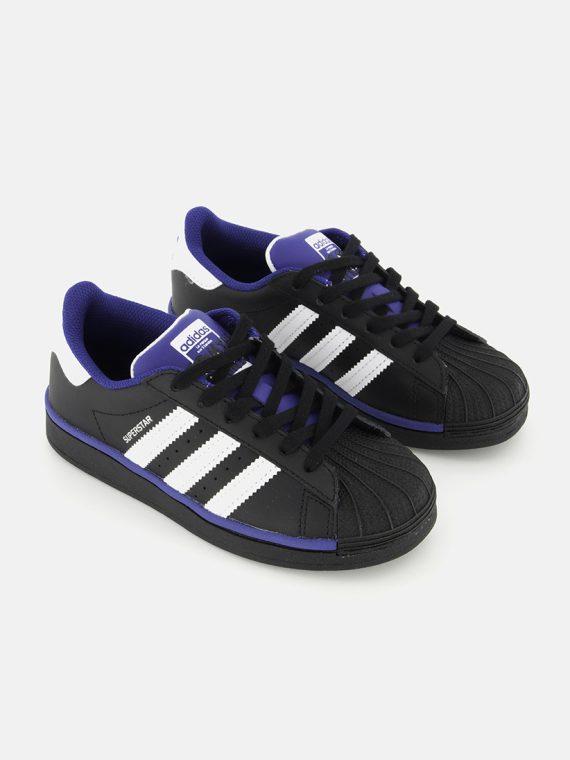 Unisex Superstar C Sneaker Black/White/Royal