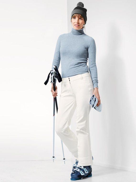 Women Ski Pants White