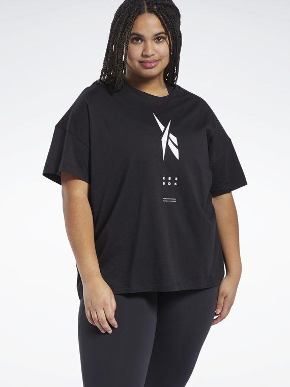 Womens Short Sleeve Edgeworks Tee Black