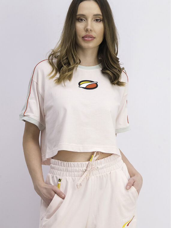 Womens Short Sleeve Tee Rosewater