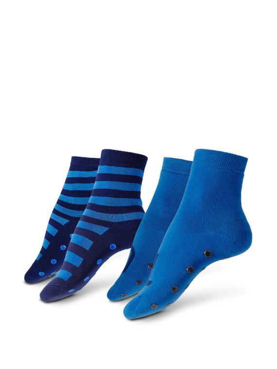 Womens Slipper Socks Dark blue/Blue